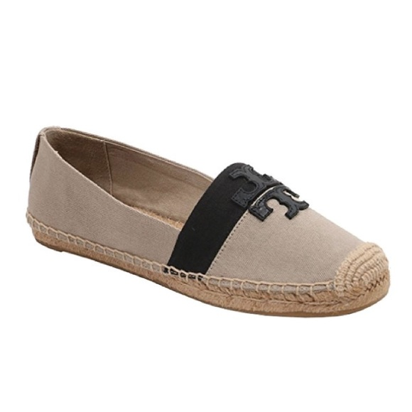 ab234e068e66 NWB Tory Burch Weston Canvas   Leather Espadrilles